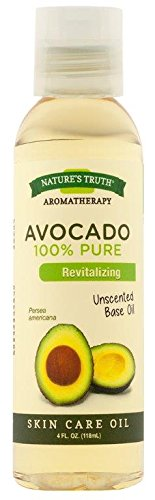 - Nature's Truth Cold Pressed Skin Care Base Oil, Avocado, 4 Fluid Ounce