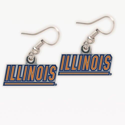 NCAA University Of Illinois Dangle - Illini Illinois Key Fighting