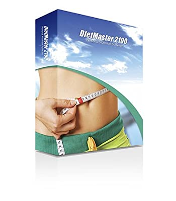 DietMaster 2100 Nutrition Software - Personal Edition Diet Software - Mac OS, Awarded 2013 Best Diet Software - Top Ten Reviews