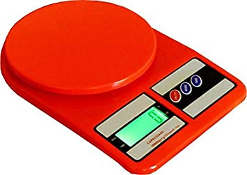 910a8e43e Image Unavailable. Image not available for. Colour  YASH ENTERPRISES All Ultimate  Electronic Digital Kitchen Weighing Scale - 10 KG Capacity Red