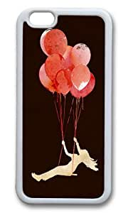 Apple Iphone 6 Case,WENJORS Awesome Fly away Soft Case Protective Shell Cell Phone Cover For Apple Iphone 6 (4.7 Inch) - TPU White