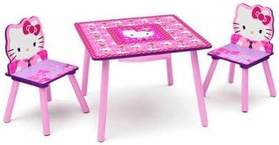 Hello Kitty Tisch und Stuhl Set mit Speicher: