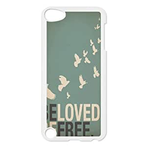 Be Free Unique Design Cover Case for Ipod Touch 5,custom case cover ygtg580462