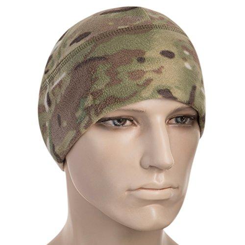 M-Tac Winter Hat Windproof Fleece 295 Mesh Mens Tactical Watch Skull Cap Beanie (Large, Camo) - Patrol Watch Cap