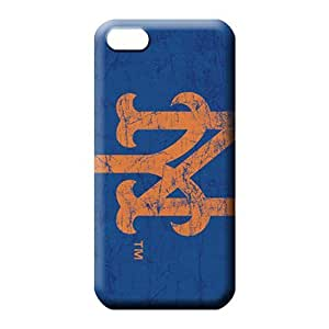 MMZ DIY PHONE CASEipod touch 5 Excellent Snap-on pattern phone carrying shells new york mets mlb baseball