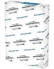Hammermill A4 Paper, 20 lb Copy Paper (210mm x 297mm) - 1 Ream (500 Sheets) - 92 Bright