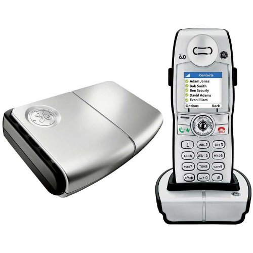 amazon com ge skype dect 6 0 cordless phone electronics rh amazon com