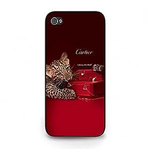 Vivid Unique Iphone 5c Cover Case,Retro Pattern Cartier SA Luxury Phone Accessory Cartier SA Logo