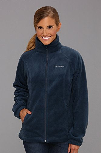 Silver Ride 2 Jacket (Columbia Women's Benton Springs Classic Fit Full Zip Soft Fleece Jacket, columbia navy, S)