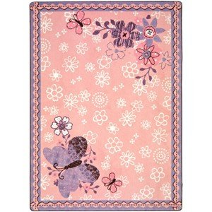 Just For Kids Flower Fields Kids Rug Rug Size: 5'4
