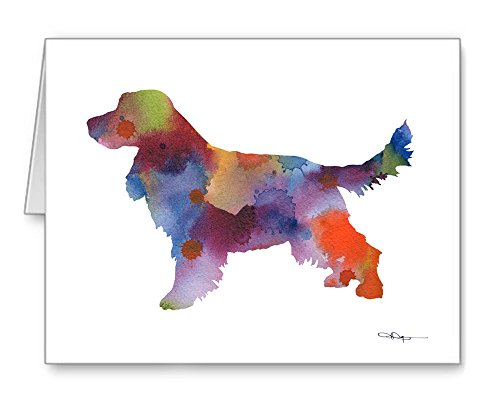 English Cocker Spaniel - Set of 10 Note Cards With Envelopes