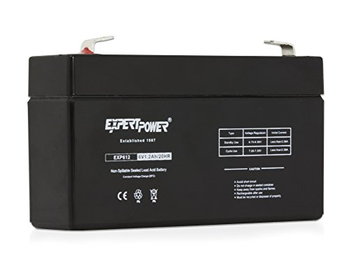(ExpertPower EXP612 6V 1.2 Amp Rechargeable Battery)