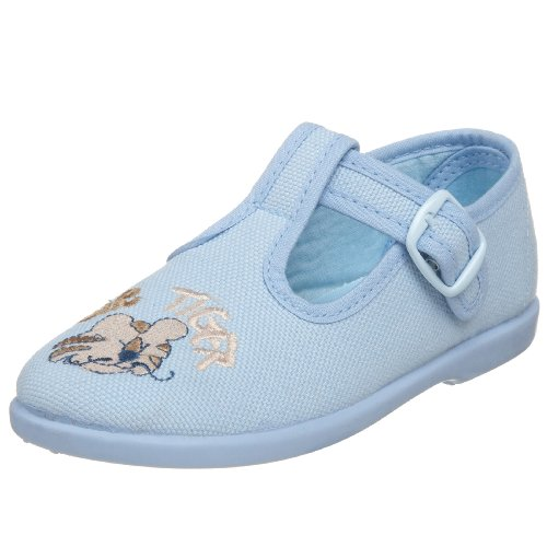 Chuches Infant/Toddler 15062 T-Strap Shoe,Celeste,20 EU(US Toddler 3.5 M)