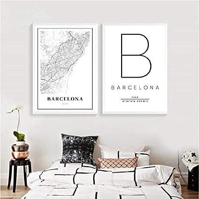 Mapa de Barcelona Imprimir España Calle España Calle Mapa de ...