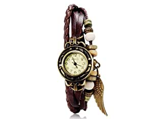 ETOU WOMAGE 630 Women's Fashionable Analog Watch (Brown) M.