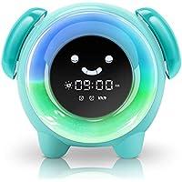 KNGUVTH Alarm Clock for Kids Bedrooms, Children Sleep...
