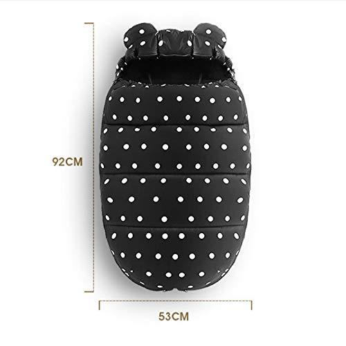 $68.82 Target Infant Car Seats RubyShopUU Baby Stroller footmuff Waterproof Sleeping Bag Thick Foot Cover with Reversible Zip Universal Stroller Accessories 2019