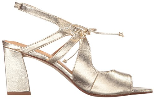 Tahari Women's Heeled Sandal Night TA Gold 6CB8qxr6w