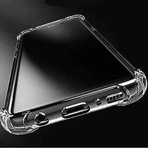 Ankirant Bumper Case for Vivo S1 / Z1X(Silicone/Transparent)