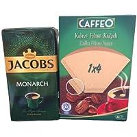 Jacobs 500 gr Kahve x Caffeo 1 x 4 Filtre Kağıdı