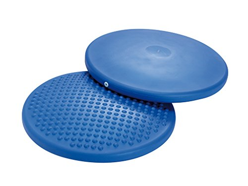 FitBALL Disc O' Sit Back Strengthener -Disc'O'Sit Balance Cushion (Disc Sitting Fitball)