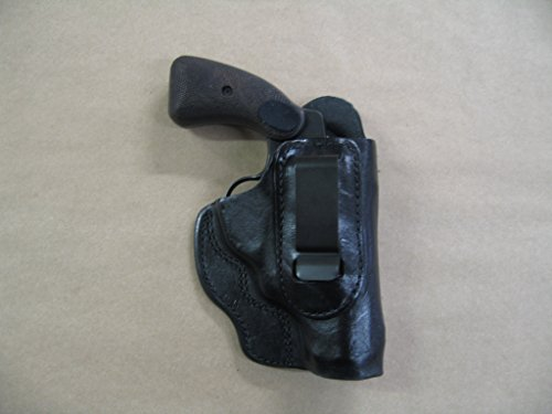 Rock Island M206 Revolver In The Waistband IWB Concealed Carry Holster CCW BLACK RH (Best Small Revolver Concealed Carry)