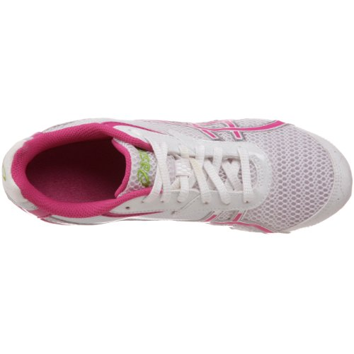 ASICS Womens Hyper-Rocketgirl 5 Track And Field Shoe White/Fuschia/Apple Green MnJAMu