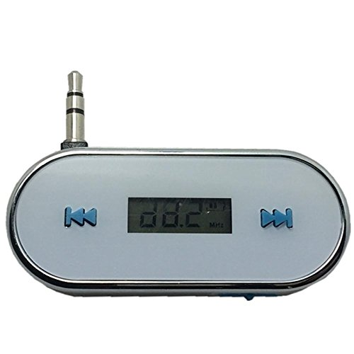 UXOXAS 3.5mm In-Car Wireless FM Transmitter for iPhone 4 4S 5S 6 Plus Samsung Galaxy S3 S4 S5 (Fm Transmitter S4 Galaxy)