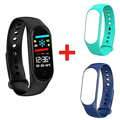 DMMDHR M3S Fitness Bracelet Blood Pressure Heart Rate Monitor Smart Band Fitness Tracker Pedometer Wristband Smart Bracelet Smartwatch Estimated Price £68.14 -