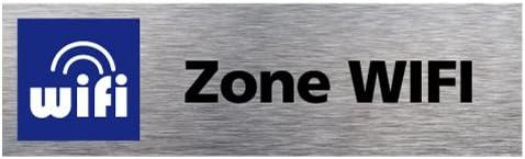 Dimensions 170 x 50 mm Sticker de Porte Secr/étariat Adh/ésif Autocollant Sticker aspect Aluminium Bross/é