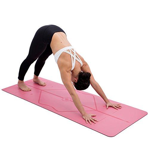 liforme Yoga Matte rose