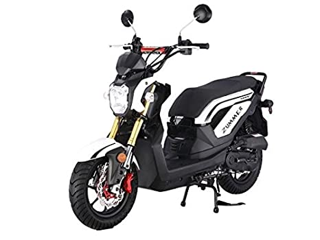 Amazon.com: Zummer Scooter de 50 cc motor de gas ...