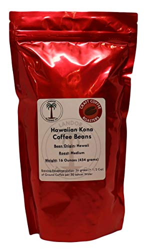 Hawaiian Kona Coffee Medium Roast Beans