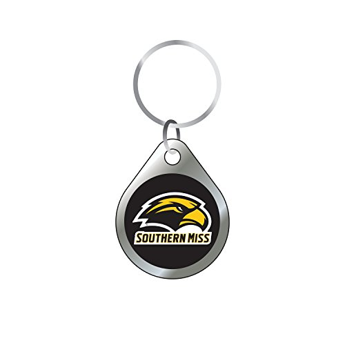 Craftique Southern Mississippi Keychain Domed Southern Miss Keychain