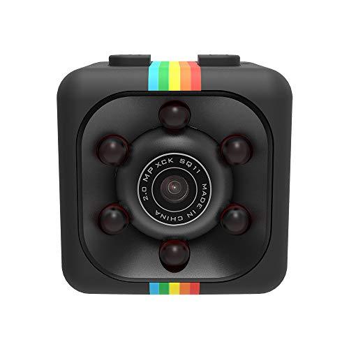 QUICATCH SQ11 Mini Portable Full HD 690P DV Sports Action Camera Car DVR Recorder Camera Recorder 1PC(Black)