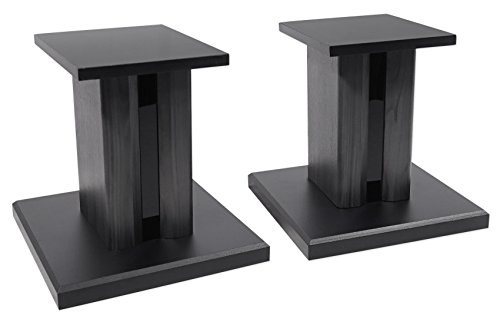 (2) Technical Pro 8 Studio Monitor Bookshelf Computer Multimedia Speaker Stands