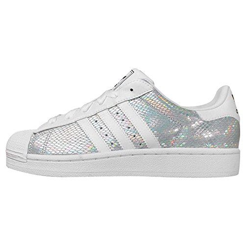 huge discount 6553d 693b8 Adidas Women s Superstar 2 W, WHITE SILVER BLACK, 8 US - Buy Online in  Oman.   Apparel Products in Oman - See Prices, Reviews and Free Delivery in  Muscat, ...
