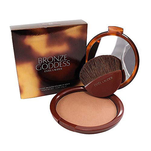 Estee Lauder Bronze Goddess No. 01 Light Powder Bronzer for Women, 0.74 - Bronze Fragrance Goddess