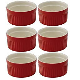 Mrs. Anderson's Round Souffle, Set of 6, 4-ounce