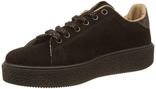 Victoria - Damen - Deportivo Serraje - Sneaker - schwarz 2OFB0IAazo