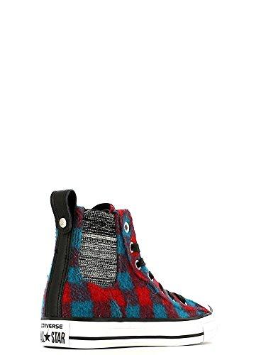 Converse X Woolrich Ctas Chelsee Kvinnor Boot Kasino / Cyan Space / Vit