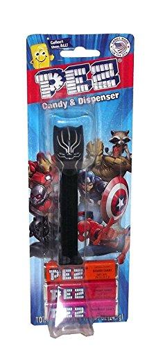 - Kids Fun Play Playtime Family Fun Teen Candy Pez Black Panther Marvel
