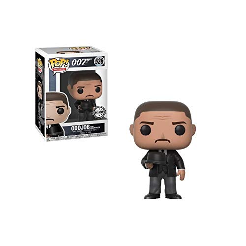 FUNKO Figura POP James Bond Goldfinger Oddjob Throwing Hat Exclus