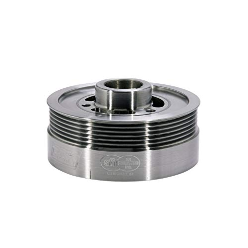 BBK 1653 Underdrive Pulley Kit for Ford Mustang 4.6L-3V GT - SFI Approved Crank Pulley - CNC Machined Lightweight Aluminum WP ()