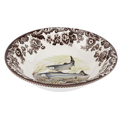 Spode Ascot Cereal Bowl (King Salmon) ()