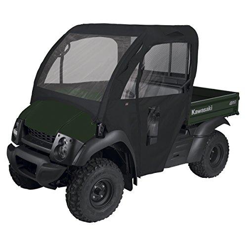 Classic Accessories QuadGear Black UTV Cab Enclosure (610 2015 Roof Mule Kawasaki)