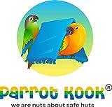 Parrot Kook Cabana for Birds Hut or Tent USA