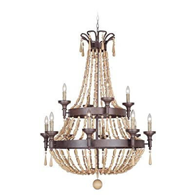 Jeremiah Lighting 36812 Berkshire Two Tier 12 Light Empire Chandelier - 35.62 In,