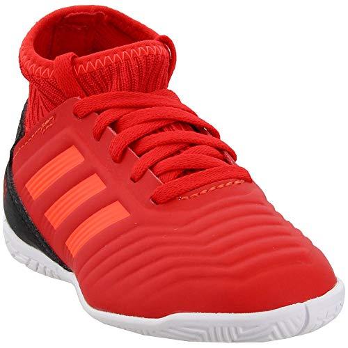 adidas Unisex Predator 19.3 Indoor, active red/solar red/black, 10.5K M US Little Kid
