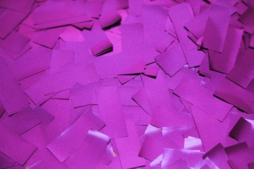 Purple Metallic Confetti by Ultimate Confetti - 1 lb